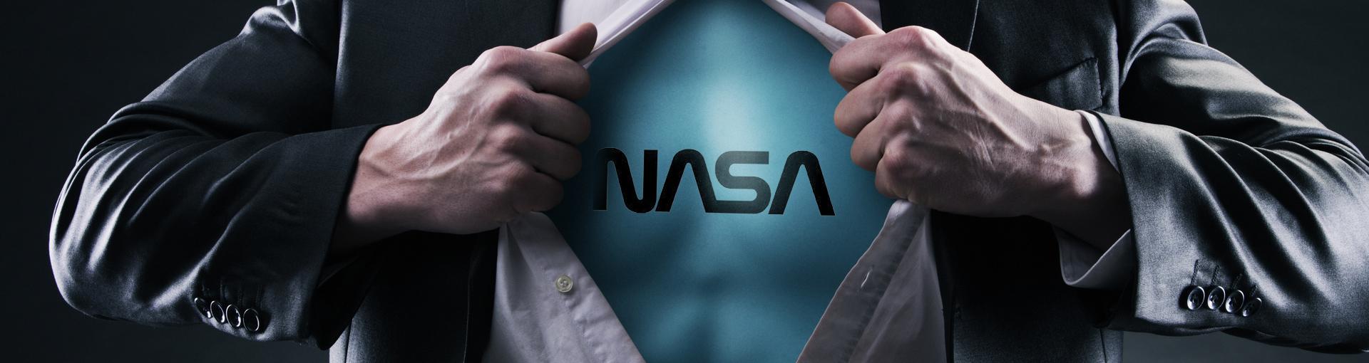 NASA HAS SELF-HEALING MATERIAL