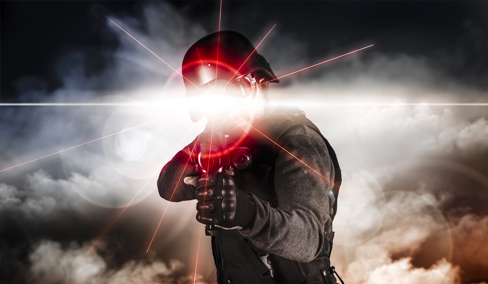 LASER WEAPONS ARE HERE