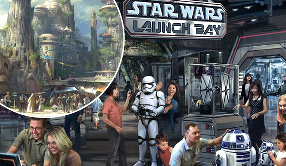 STAR WARS LAND WILL HAVE DROIDS