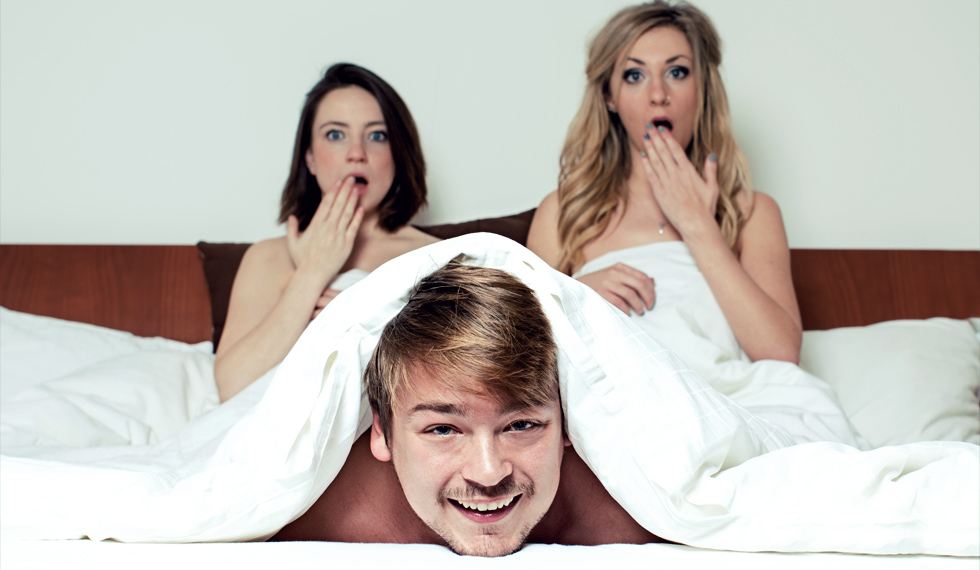 HOW TO SURVIVE A THREESOME