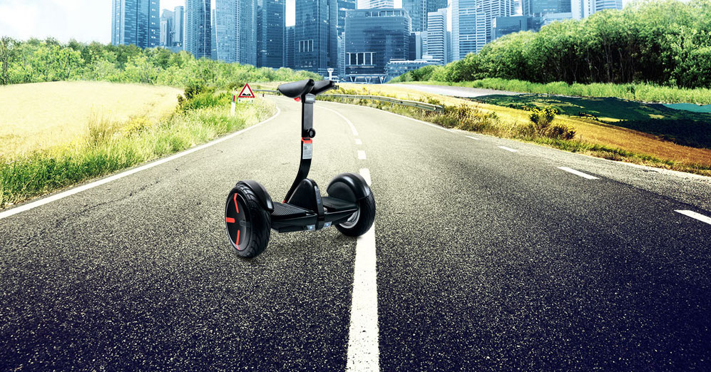 SEGWAY FINALLY MADE THEIR OWN HOVERBOARD