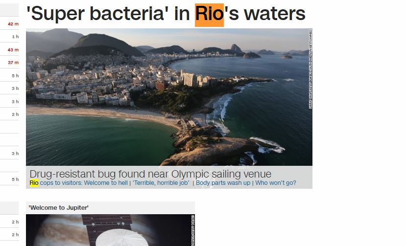 rio water
