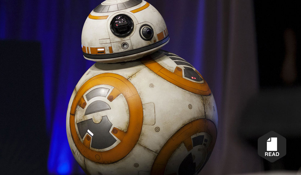 39 star wars 39 robot bb 8 will now be available to roll around your living room socialunderground - Robot blanc star wars ...