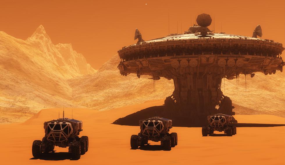 moon base or mars base - photo #43