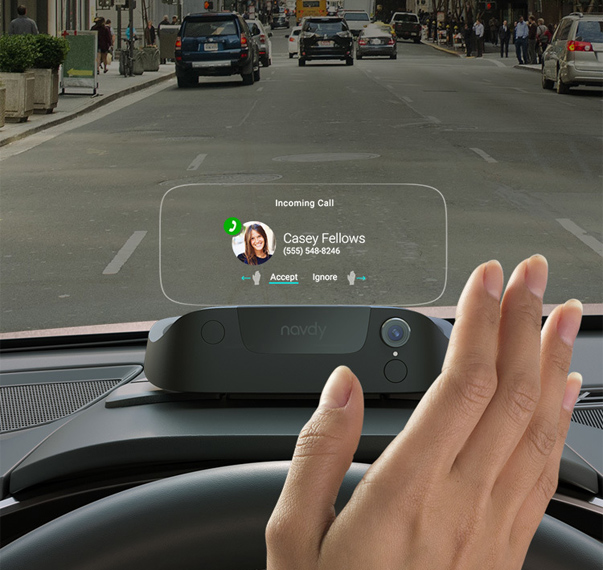 Navdy Is a Smartphone-Connected Display for Your Car