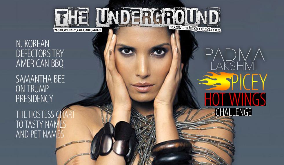 The Underground, Padma Lakshmi, Trump