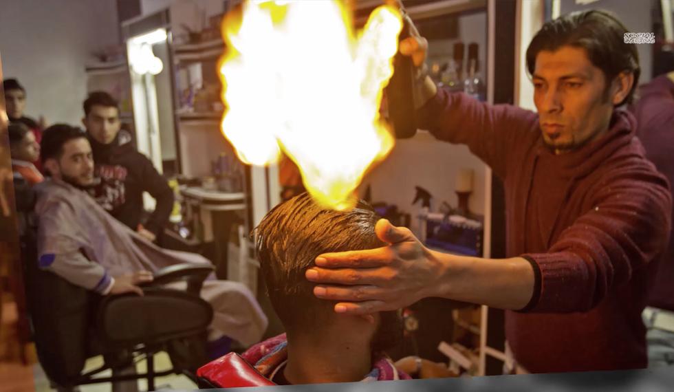 hair torching