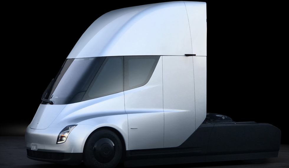 Tesla Electric Self-Driving Trucks