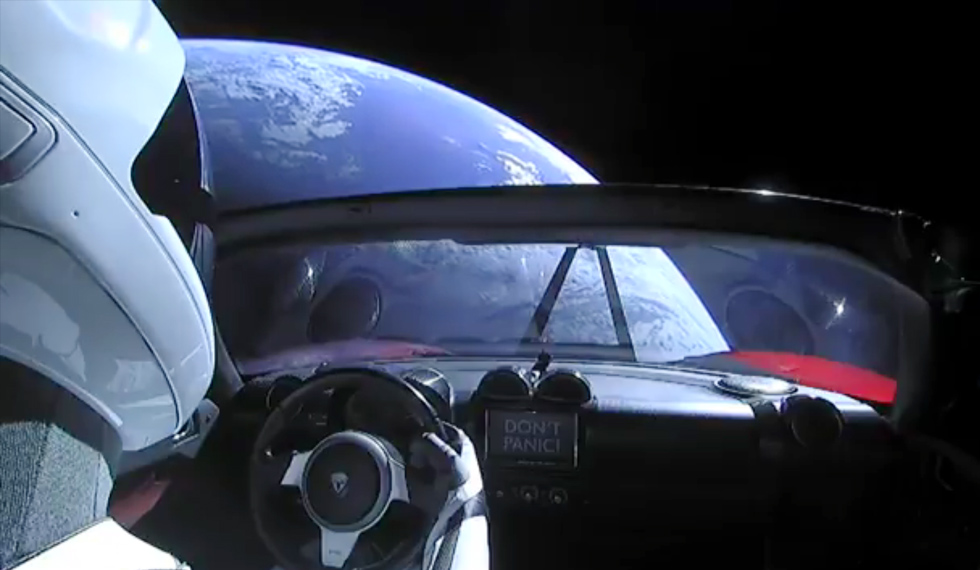 What Will Happen To The Tesla Roadster And Starman In