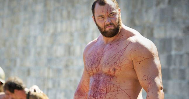 'The Mountain' From 'Game of Thrones'