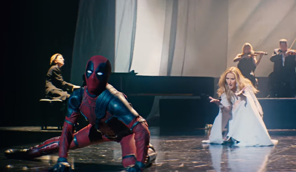 Deadpool, Céline Dion