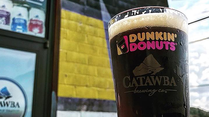 Dunkin' Donuts, beer